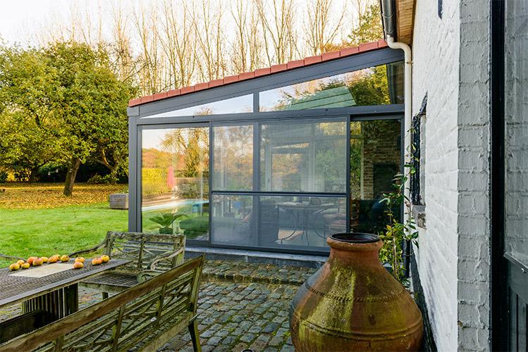 Verandabouw limburg veranda hasselt isovera - Uitbreiding veranda ...